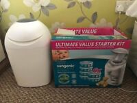 Tommee Tippee Sangenic Baby Nappy Diaper Disposal System Bin