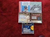 REDUCED - AUDIO BOOKS - AGATHA CHRISTIE - Various titles & prices.