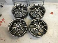 "BBS SR Alloys. 7x16. 16"". 5x100. Audi A1. Polo. Golf VW. Seat Leon."