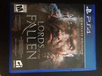 Lords of the fallen PS4 game.