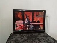 22 inch BUSH HD LCD with built in DVD