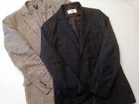 2 H&M casual/smart blazers / jackets
