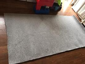 Brand new roll of carpet 52 inches x 100 inches - Silver Grey