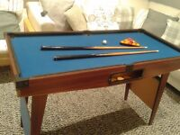Children's Pool/Snooker Table - Height suitable for adults too