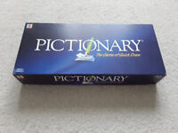 Selection of 3 Board Games- Pictionary, Cranium & Piss Artist