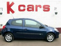 IDEAL FIRST CAR LOW INSURANCE RENAULT CLIO 1.1 WITH 12 MONTHS MOT AND FULL SERVICE HISTORY