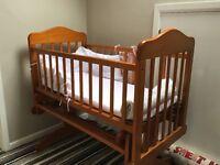 Baby Crib - Glider