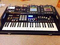 Waldorf blofeld, korg kaossilator pro plus,also mkp49 ,Synthesizer,looper,sampler
