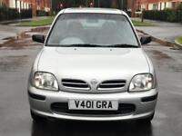 AUTOMATIC LOW MILEAGE NISSAN MICRA GX 1.3 PETROL 5 DOOR HATCHBACK