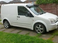 VAN FORD TRANSIT CONNECT PRIVATELY USED LOADS OF EXTRAS FIST TIME STARTER MOT`D