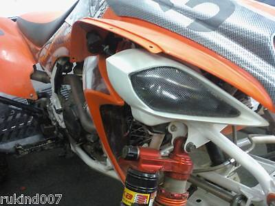 Yamaha RAPTOR 660 BLACK Head Light Covers VERY COOL MUST SEE!