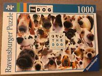 1000 piece jigsaw dogs