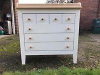 Mamas and Papas changing table/chest of draws