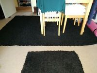 Shaggy Rugs (large and small) For Sale together or separately!