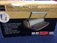 Document Binding Machine- Never Used