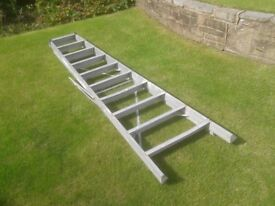 for sale industrial aluminium step ladders