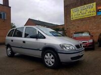 2004 Vauxhall Zafira Life 1.8 - 7 Seater - 1 Months Warranty