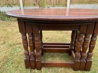 Vintage Old Charm nest of tables