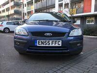 Ford focus 1.6 5 dr petrol blue, cheap!