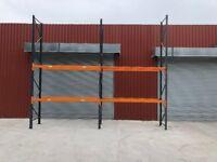 Heavy Duty Dexion Speedlock Warehouse Pallet Racking - 2 BAYS