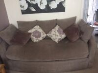 £40. Large 3 seater sofa. From a smoke free and pet free home. Buyer must be able to collect.