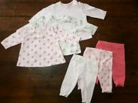 Baby girl 0-3 months outfit bundle