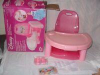 Disney Princess Swing Tray Booster Seat++ brand new++£25 ONO