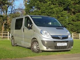 Vauxhall Vivaro Camper Conversion, Dayvan, Motorhome, Sleeps 2, Air Con, Fully Insulated & Carpeted
