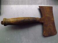 "Vintage Double Headed Axe.- Blade 7"" x 4"""