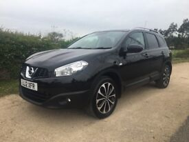 2012 NISSAN QASHQUI +2 1.6 DCI NTEC + 7 SEATER. STUNNING CONDITION! HUGE SPEC! FULL HISTORY!