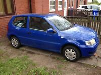 Vw polo 1.4 11 months mot
