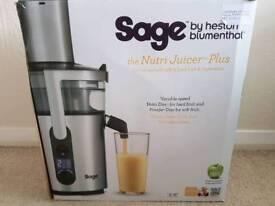 Sage by heston blumenthal nutri-juicer plus