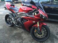 Yamaha R1 2006, metallic red, superb condition