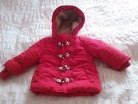 Winter baby girl bundle 6-9 months