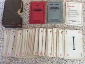 Original Lexicon 1930's Card Game