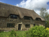 Rose Cottage - rural, child and pet friendly holiday cottage in Devon, with on site swimming pool