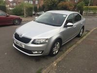 Skoda Octavia, 2.0 diesel silver hatchback 2014 semi automatic 12 MOT (Dec 18) and Road Tax (Dec 18)