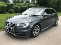 Audi s3 stronic 2014 low miles cheap car £14750