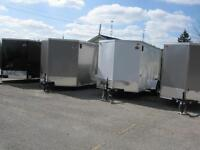 ENCLOSED UTILITY TRAILERS, OPEN TRAILERS, SNOW TRAILERS