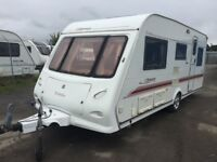Elddis Odyssey 505 /5berth 2004 end wash room separate toilet and shower oven hobs and grill blow