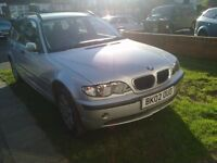 BMW 318 ESTATE , 2002 ,E46 2 LITRE PETROL BREAKING WHOLE CAR FOR SPARES ,ALL PARTS GOING CHEAP ,