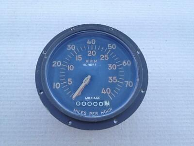 Indicator speedometer tachometer Bendix military tank bulldog M41
