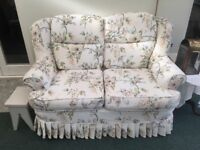 Two Two Seater Sofas Available now