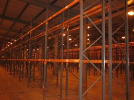 JOBLOT DEXION pallet racking excellent condition ( pallet racking , industrial storage )