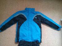Kids Ski jacket and salopettes