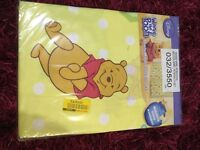 Childs curtains Winnie the Pooh NEW