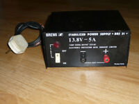 Bremi CB/Ham radio power supply 12v 5-7A