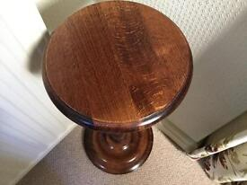 Lamp table / side table, Barley Twist stand. (Would look pretty painted)