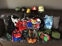 Boys dressing up outfits age 5/6/6 all been used but still plenty wear /