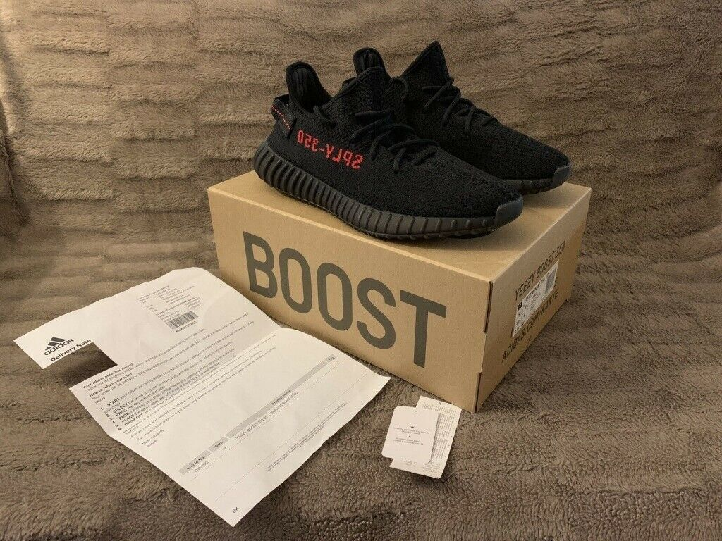 8473a5456 Adidas YEEZY 350 Boost V2 - BRED - UK 9 w  Receipt